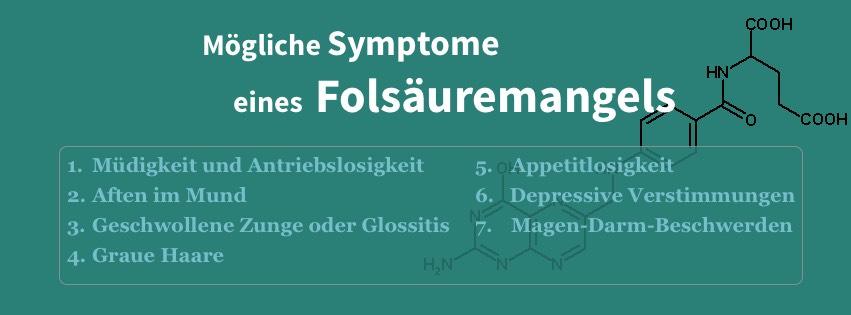 Folsäuremangel kann durch verschiedene Anzeichen erkannt werden. Hier eine Übersicht über die häufigsten Symptome.